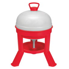 Little Giant Poultry Dome Waterer With Legs - 5 Gallon
