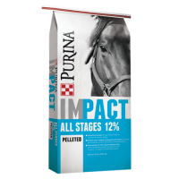 Purina Impact All Stages 12% Pelleted Horse Feed