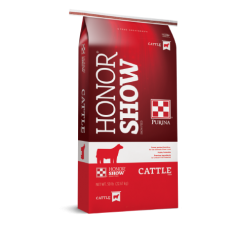 Purina Honor Show Chow Fitter's Edge Cattle Feed