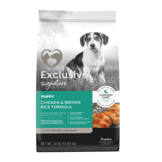 Exclusive Signature Puppy Food Chicken & Brown Rice Formula