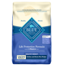 Blue Buffalo Life Protection Formula Large Breed Healthy Weight Adult Chicken & Brown Rice Recipe Dry Dog Food