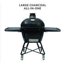 Primo Large 300 Charcoal All-In-One Ceramic Grill