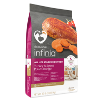 Infinia All Life Stages Dog Food Turkey & Sweet Potato Recipe