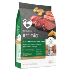 Infinia All Life Stages Dog Food Venison, Potato & Duck Recipe