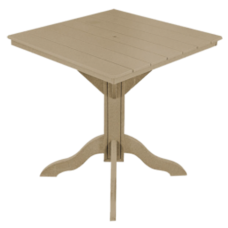 """Kanyon Counter Height 42"""" Square Table"""