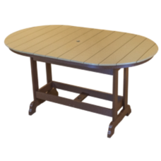 Kanyon Counter Height 6' Oval Table