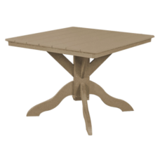 """Kanyon Dining Height 42"""" Square Table"""