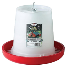 Little Giant 11lb Plastic Hanging Poultry Feeder